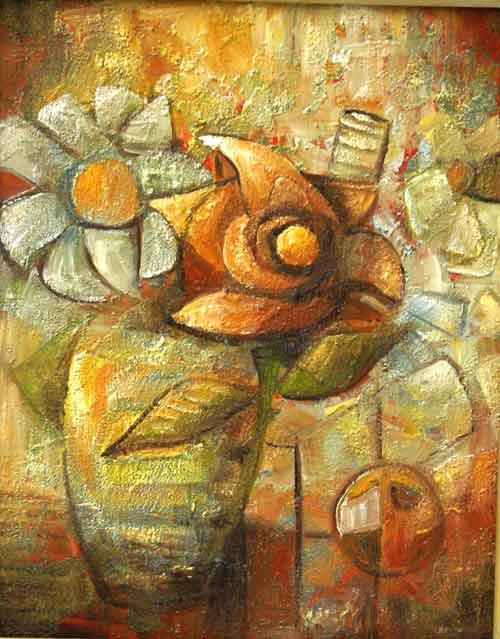 Natürmort , 2006, TÜY, 50 X 40 cm