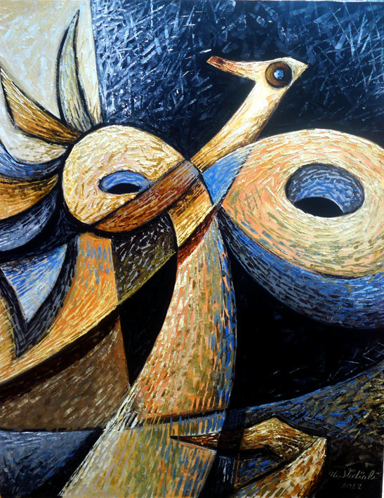 19 ve Sonsuzluk -01, 2012, T.Ü.K.T., 80 X 63 cm