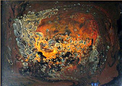 Nebula, 1999, MDF, 30 X 20cm