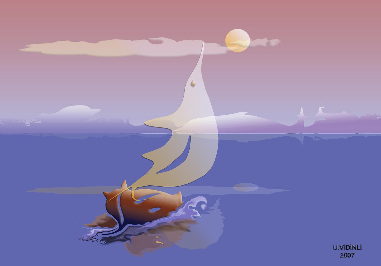 Büyüklere Masallar-8 , 2007,Digital, 100 X 70 cm