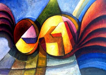 Sonsuzlukta Zaman , 2012, T.Ü.K.T., 120 X 80 cm