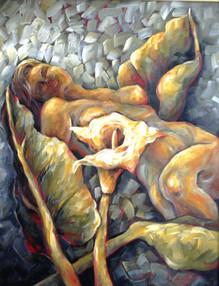 Çıplak, 2004, KÜY, 50 X 30 cm