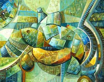 Kutlama, 2006, TÜY, 76 X 60 cm