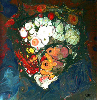 Tavşanlı Buket, 1999, MDF, 30 X 30 cm