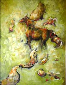 Kırsal, 2004, TÜY, 70 X 55 cm