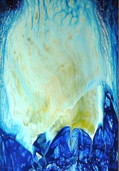 Denizanası, 1999, MDF, 35 X 25 cm