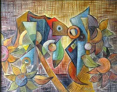 Betonlaşma, 2005, TÜY, 80 X 63 cm