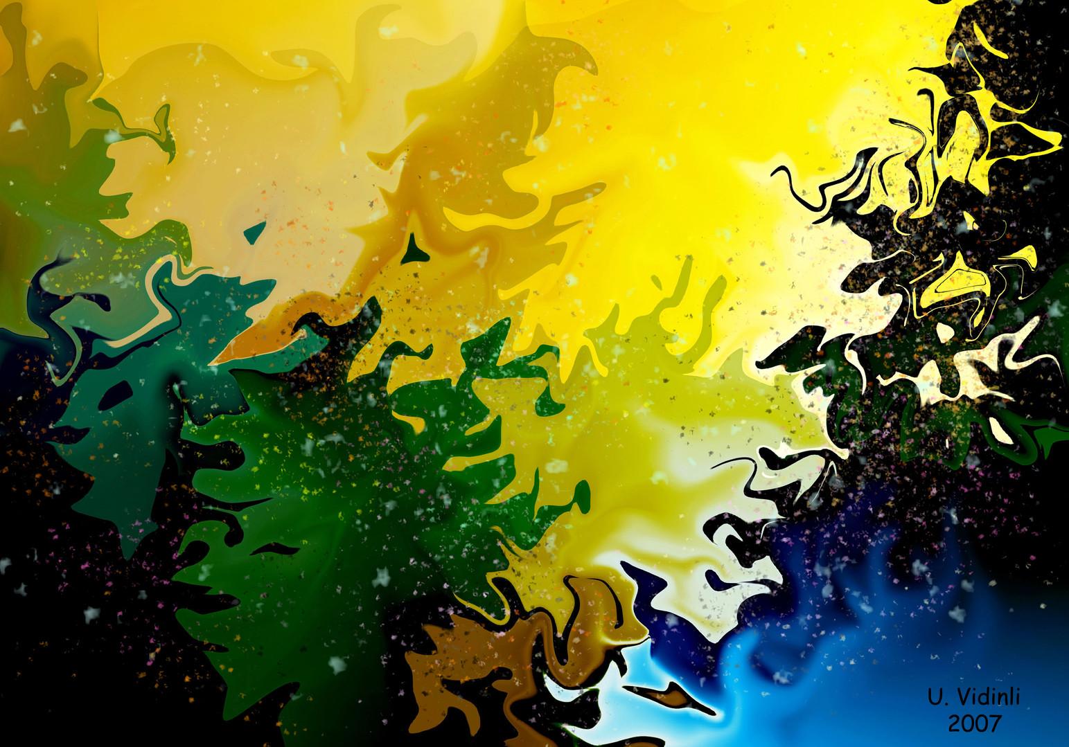 Zümrüt Ormanı, 2006,Digital, 100 X 70 cm