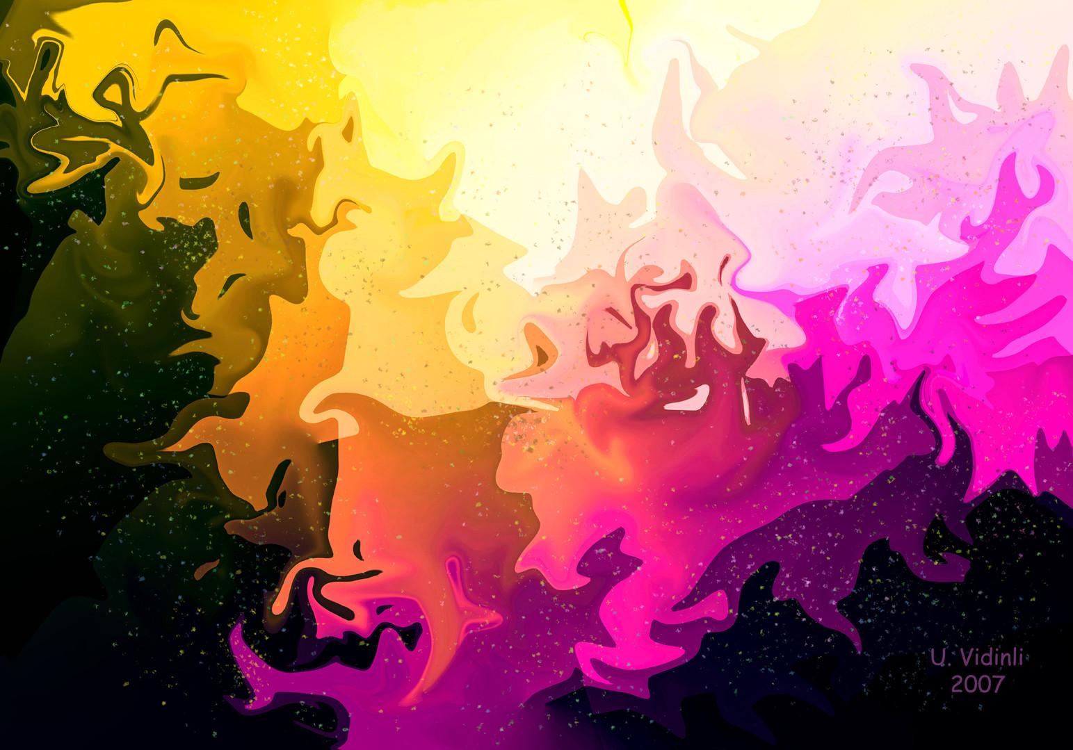 Eflatun Ormanı, 2006,Digital, 100 X 70 cm