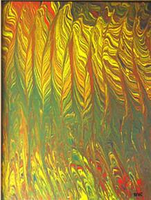 Başaklar, 1999, MDF, 50 X 40 cm