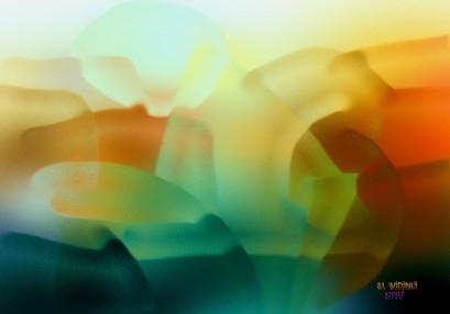 Buzlu Peysaj , 2006,Digital, 100 X 70 cm