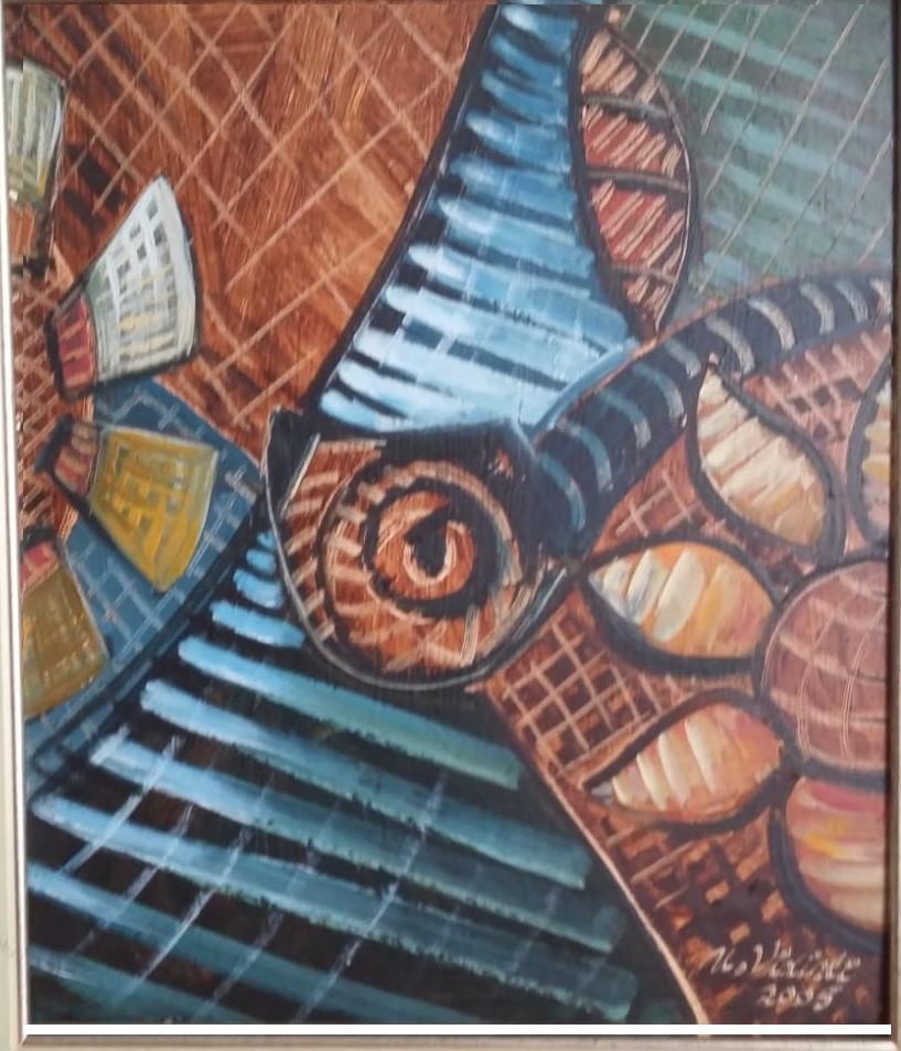 Bu Bir Pipodur , 2005, MDF, 50 X 40 cm