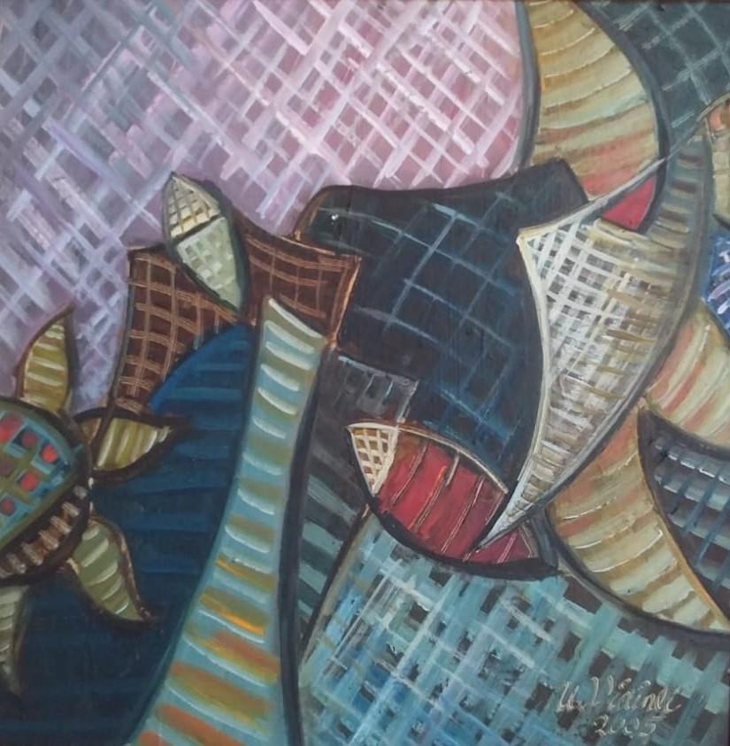 Etüd , 2005, MDF, 50 X 40 cm