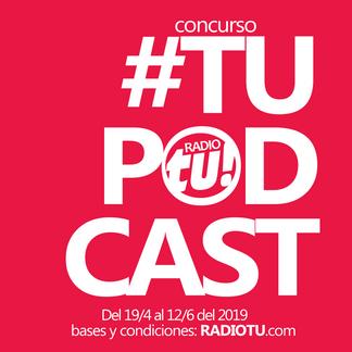 ¡Concursá para poder hacer tu contenido on demand en nuestra emisora con #TUPodcast 2019!