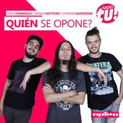 #QuiénSeOpone con Mati Chiarello y Gonza Gattuso