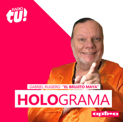 #Hologramas con el brujito Maya