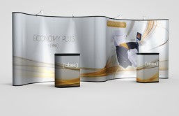 Economy Plus 20' Pop-Up Displays