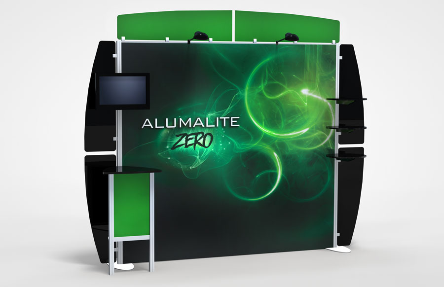 10 Foot Alumalite Zero AZ6 Display