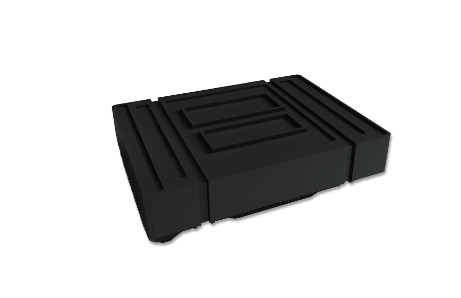 """44"""" x 32"""" Portable Shipping Case Wit"""