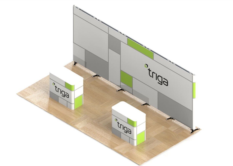 """Triga 20' x 10' Trade Show Booth """"A"""""""