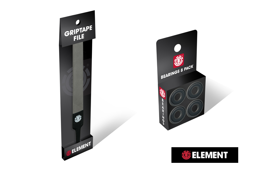 Element Skateboards-Tool Packaging