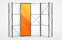 Economy Plus Pop-Up Replacement Graphic Front Panel