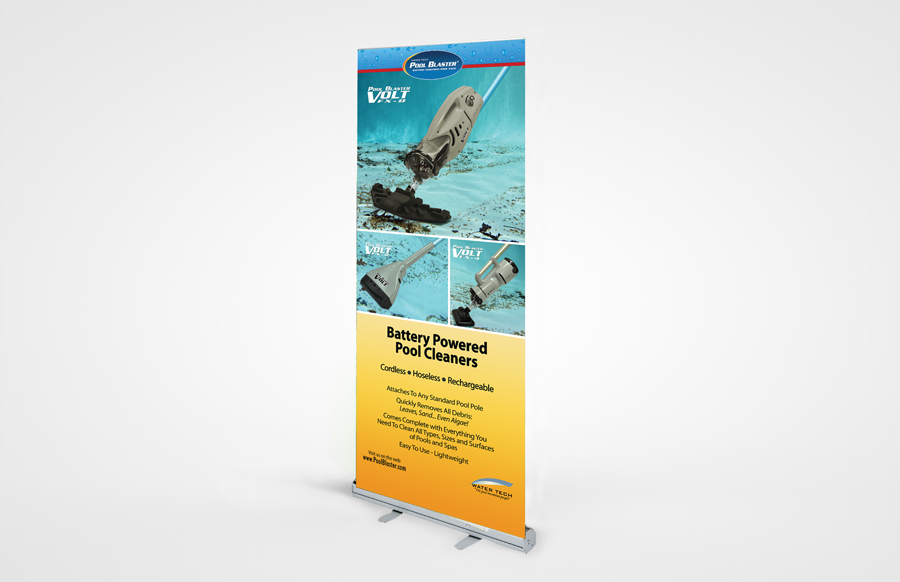 Budget 850 Retractable Bannerstand 3