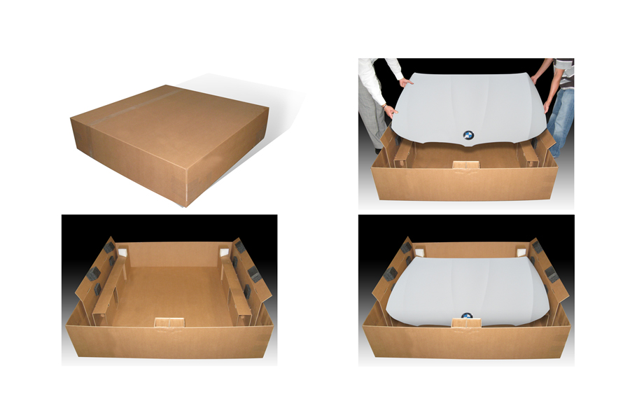 BMW Hood Packaging
