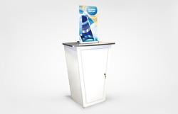 Mini Retractable Counter Bannerstand