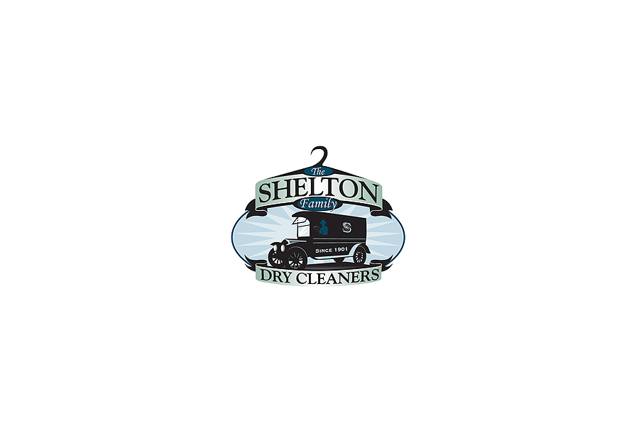 The Shelton Family Dry Cleaners-Logo Design