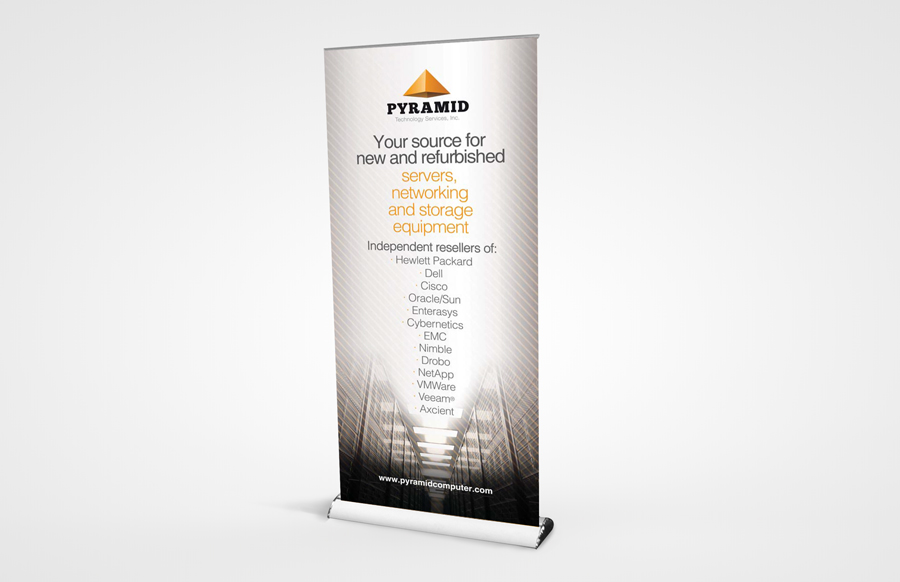 PCG 1000 Retractable Bannerstand 39""