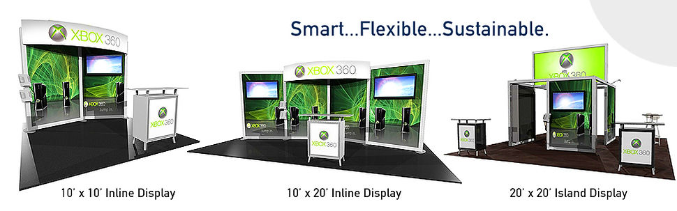 10' x 10' Inline Display Gallery