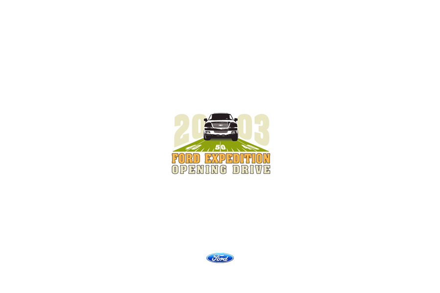 Ford & NFL Opening Drive-Logo Design