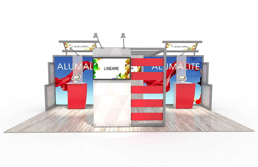 20' AL14 Alumalite Lineare Display