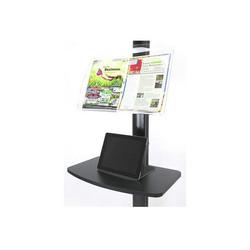 EZ Fold All-In-One LCD brochure-rack
