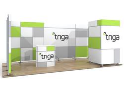 "Triga 20' x 10' Trade Show Booth ""C"""