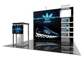 Adidas Modular Display