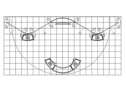 PCG 20.03 10' x 20' Inline Display