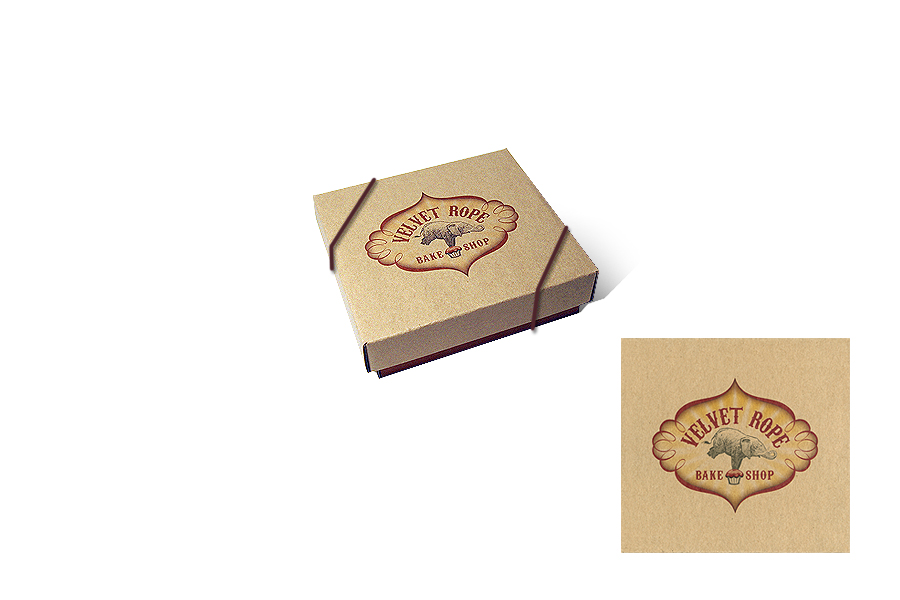 The Velvet Rope Bake Shop-Packaging