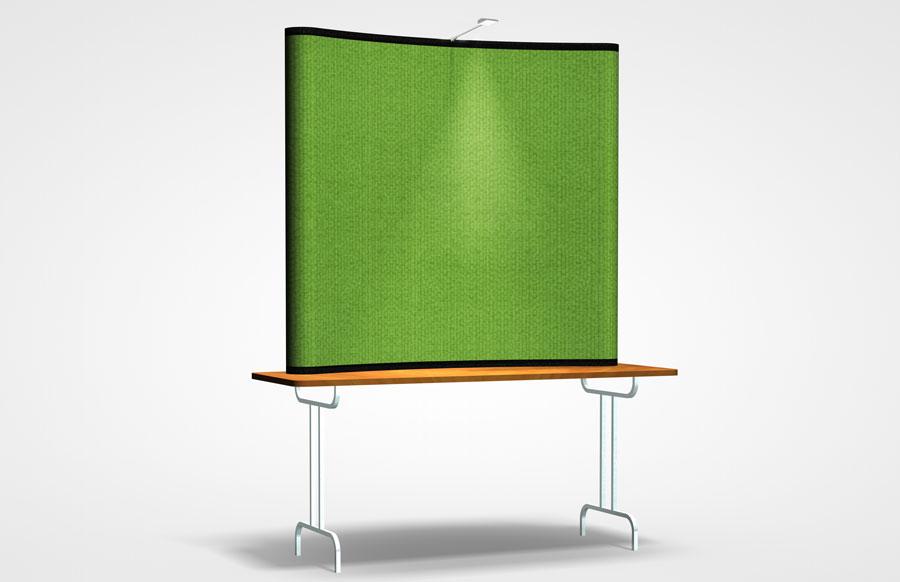 Economy Plus 6' Table Top Displays