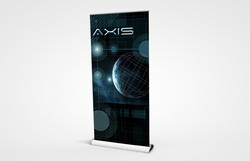 "PCG 1000 Retractable Bannerstand 39"""