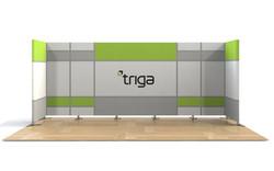 "Triga 20' x 10' Trade Show Booth ""D"""