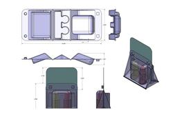 Pool Testing Kit-Plastic Packaging