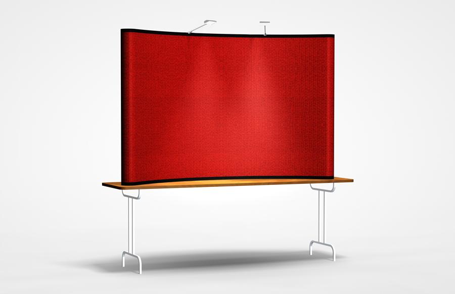 Economy Plus 8' Table Top Display