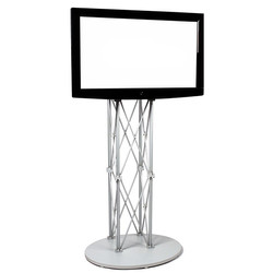 EZ Fold LCD/TV Stand silver