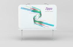 Zippa 8 Foot Tabletop Display