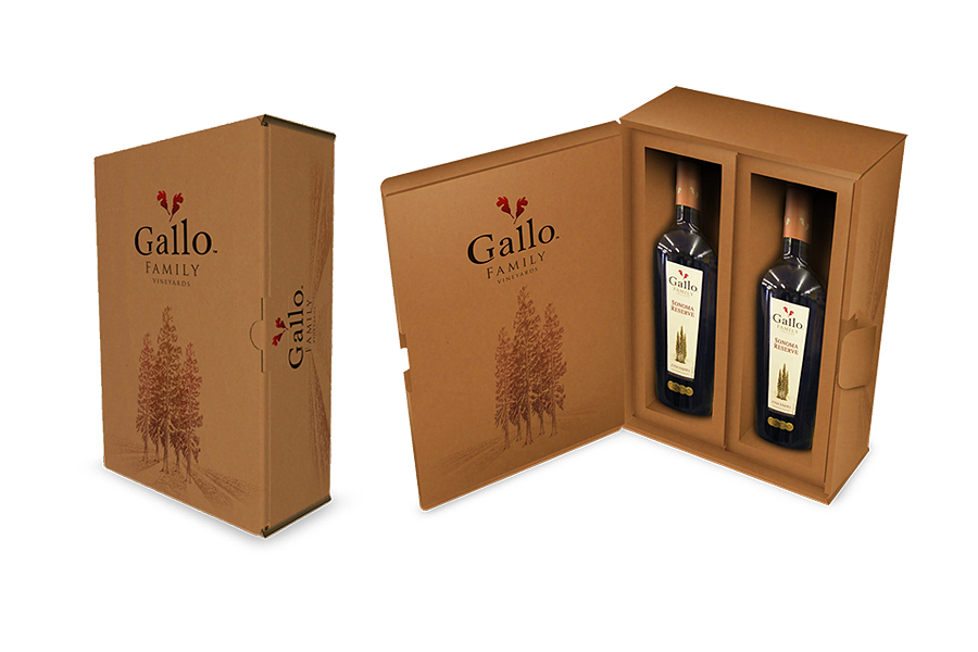 Gallo Family-Shipper Packaging