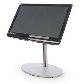 "EZ Stand Short LCD Stand 28""-7Silver"