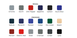Coyote Fabric Colors