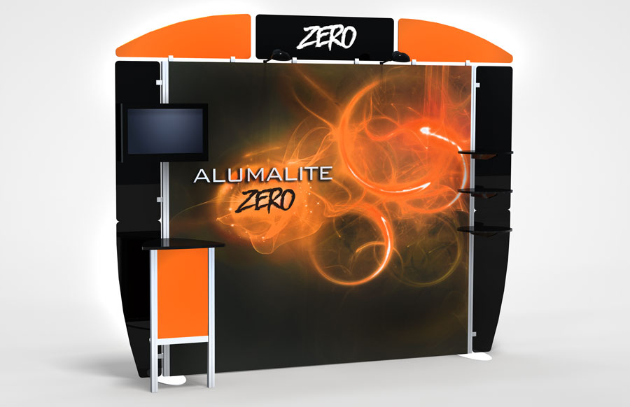 10 Foot Alumalite Zero AZ5 Display